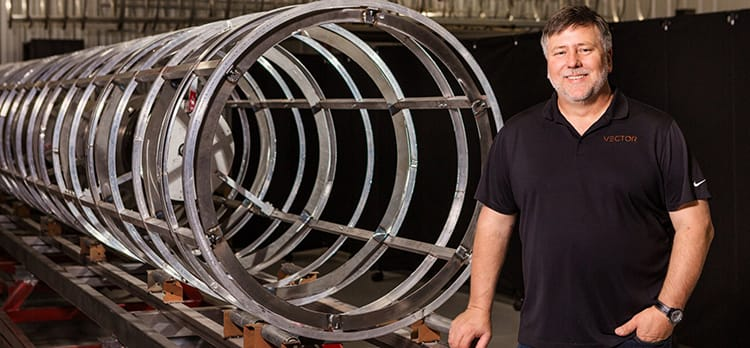 Russian rockets. Elon Musk. Entrepreneur Jim Cantrell is ready to put it all behind him--if he can.
