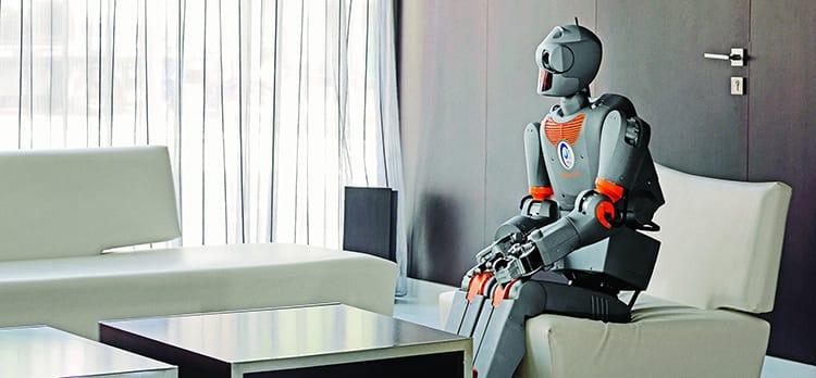 making human and robot get along