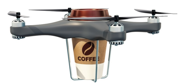 The Best Invention of 2018 Is the IBM Coffee Drone