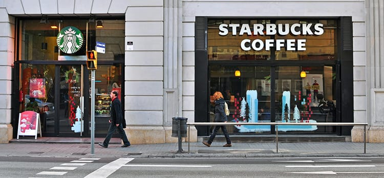 starbucks shift in strategy