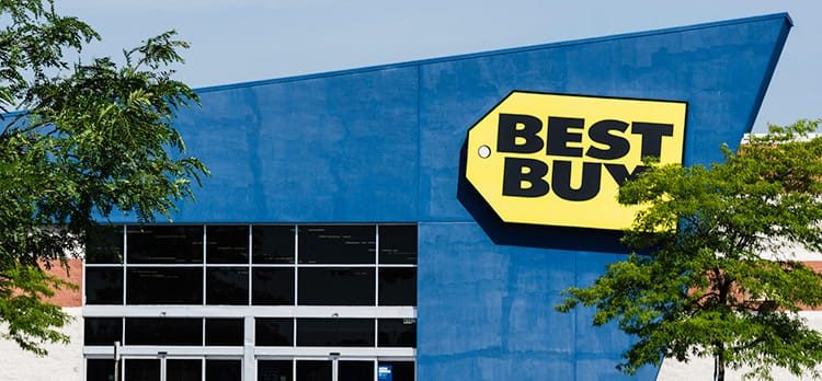 A Best Buy location in Shelby Township, Michigan.